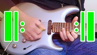 12 Flashy Repeating Rock Licks