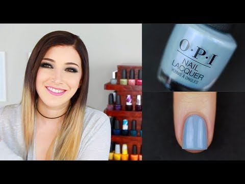 OPI Iceland Fall/Winter 2017 Nail Polish Swatch + Review || KELLI MARISSA