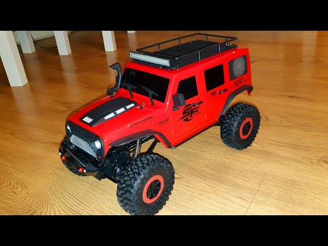 Wltoys 104311 1/10 2.4ghz 4X4 Crawler Quick Look Over(Banggood)