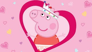 Peppa Pig English Episodes | Peppa Pig Celebrates Valentine's Day  💝 Peppa Pig Official