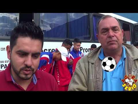 Chefe de Gabinete Kena e Secretário de Esportes Mauro Ramos desejando boa sorte para os Garotos dos Jogos Regionais 2018 em Santo André