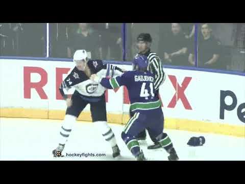 Jonah Gadjovich vs. Matt Ustaski