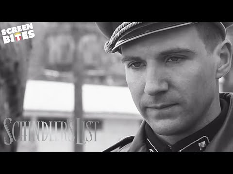 Schindler's List | Amon Goeth chooses his housekeeper (ft. Ralph Fiennes and Embeth Davidtz)