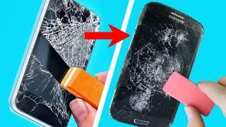 trying 42 HOLY GRAIL HACKS THAT WILL SAVE YOU A FORTUNE by 5-Minute Crafts