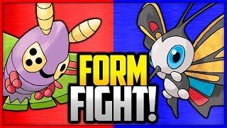 Beautifly  - (Pokémon) - Dustox vs Beautifly   Pokémon Form Fight (Branched Evolution)