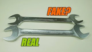 Fake Stahlwille Wrenches?