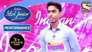 Will Aryan's Attitude Impress The Judges?   Indian Idol Junior 2