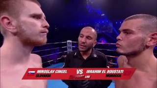 Ibrahim El Boustati vs Mirslav Cingel The Hague 02 04 16