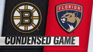03/23/19 Condensed Game: Bruins @ Panthers