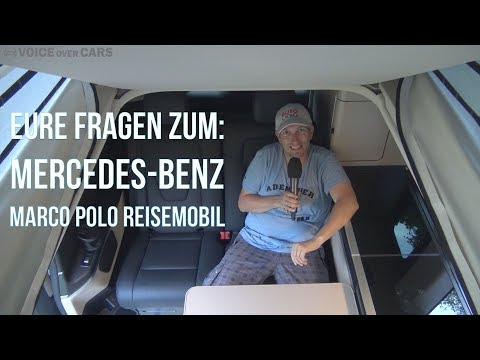 Eure Fragen zum Mercedes-Benz V-Klasse Marco Polo Reisemobil Voice over Cars Community Talk