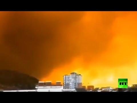 العرب اليوم - شاهد: مقتل 19 شخصًا في حريق غابات بإقليم