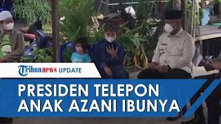 Presiden RI Jokowi Video Call Langsung Arga, Bocah di Kukar yang Azan di Makam Ibunya, Beri Dukungan