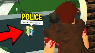 POKE HATER Went CRAZY So I Called The COPS! (Roblox)