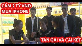 Cầm 2 Tỷ VNĐ Mua IPhone Tán Gái Và Cái Kết- HuyLê ( Gãy TV Phiên Bản Việt Nam)
