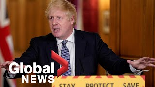 Coronavirus outbreak: Boris Johnson holds first press conference since recovering from COVID-19
