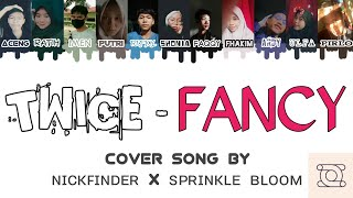 """TWICE """"FANCY"""" (Color Coded Lyrics Han/Rom/Idn)   Cover Song by NICKFINDER x SPRINKLE BLOOM"""
