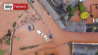 A man has died after falling into the River Tawe in South Wales as three major incidents have been declared.  A multi-agency response has been triggered as rescuers battle to get to victims by helicopter and boat.  Major incidents have also been declared in Hereford and Worcester.  Storm Dennis has also meant the Environment Agency declared the highest number of flood warnings and alerts on a single day in England.  Sky News videos are now available in Spanish here/Los video de Sky News están disponibles en español aquí https://www.youtube.com/channel/UCzG5BnqHO8oNlrPDW9CYJog  SUBSCRIBE to our YouTube channel for more videos: http://www.youtube.com/skynews   Follow us on Twitter: https://twitter.com/skynews and https://twitter.com/skynewsbreak   Like us on Facebook: https://www.facebook.com/skynews   Follow us on Instagram: https://www.instagram.com/skynews   For more content go to http://news.sky.com and download our apps:    Apple https://itunes.apple.com/gb/app/sky-news/id316391924?mt=8   Android https://play.google.com/store/apps/details?id=com.bskyb.skynews.android&hl=en_GB