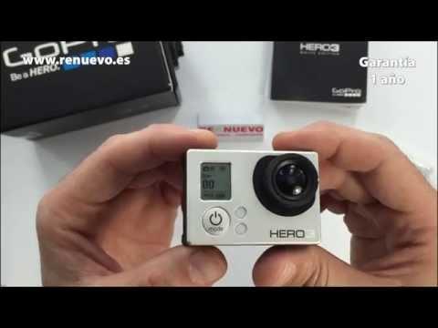 Comprobación de una cámara GoPro Hero de segunda mano