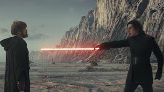 Star Wars: The Last Jedi (2017) Skywalker vs Kylo Ren