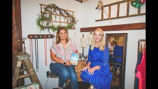 Deborah Olson on Live with Lidia at The Salted Hippie Boutique on June 8, 2019