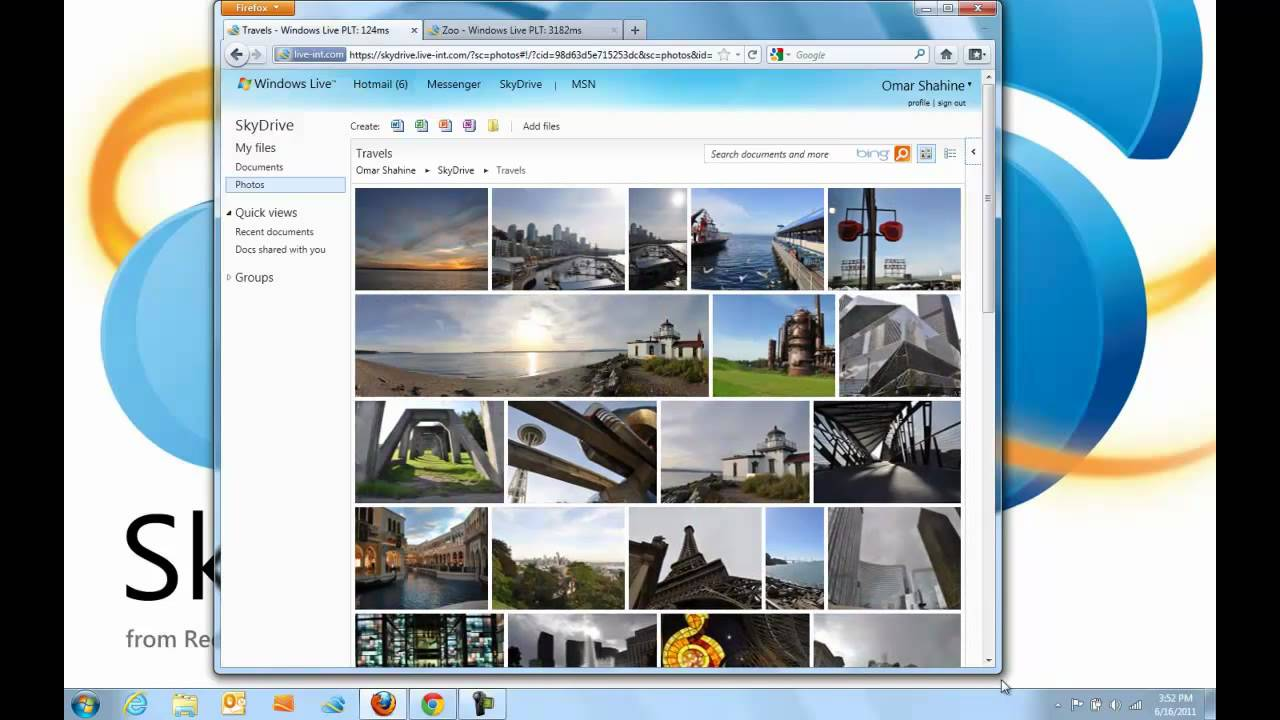 Microsoft Gives Their Dropbox-Like SkyDrive An HTML5 Overhaul