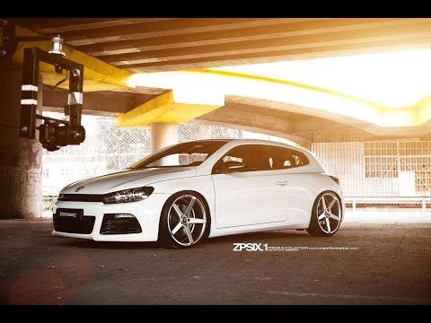 "Low Volkswagen Scirocco R w/ 20"" Rims"