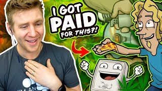 REACTING to my OLD FREELANCE WORK!! - I Can