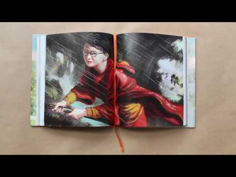 Unboxing Harry Potter e a Câmara Secreta ilustrado