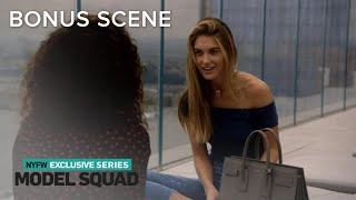 Caroline Lowe Reveals She Wants to Be a Young Mom | Model Squad | E! - Video Youtube