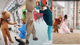 Tiktok Trung Quốc-  Cười rách miệng với những con gấu lầy lội!