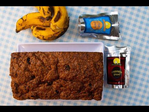 Banana Bread with Nutmeg & Cinnamon