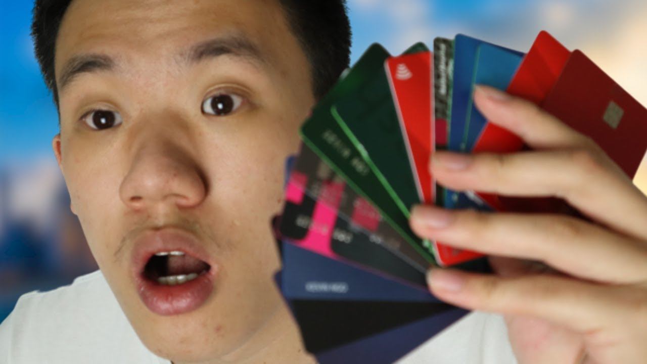Exposing All My Credit Cards (15 CARDS)