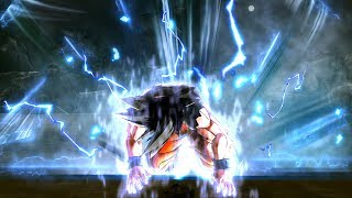 Goku's First Time Ultra Instinct In Dragon Ball Xenoverse 2 Mods