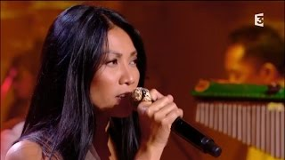 Anggun & Youssou N'Dour singing 7 Seconds at Même le dimanche (France 3)