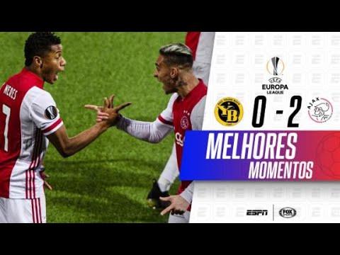 GOL BRASILEIRO E CLASSIFICAÇÃO! Melhores momentos de Young Boys 0 x 2 Ajax pela Europa League