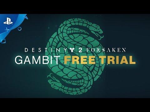 Destiny 2: Forsaken – Gambit Free Trial Weekend   PS4