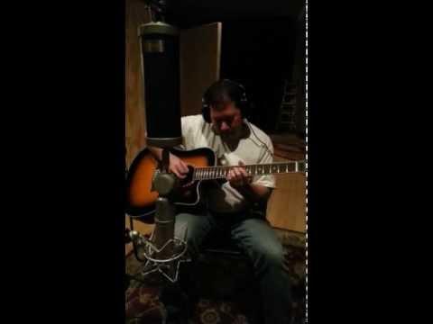 """Guitar Bob of The Rezzonators records """"Ride"""" in studio"""