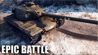 ЭТО ШЕДЕВР!!! Лучший бой на T110E5 World of Tanks EPIC BATTLE