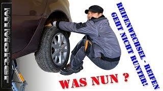 Reifenwechsel - Reifen geht nicht runter! Was Nun? Von M1Molter