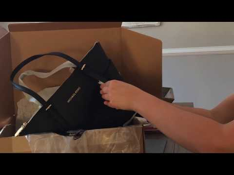 8a465a7e9d Michael Kors Jet Set Top-Zip Saffiano Leather Tote unboxing - Action.News  ABC Action News Santa Barbara Calgary WestNet-HD Weather Traffic