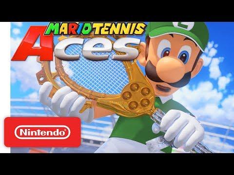 Mario Tennis Aces - Adventure Mode Trailer - Nintendo Switch thumbnail