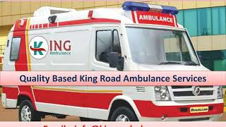 Take ICU Facility Ambulance Service in Gaya and Samastipur by King