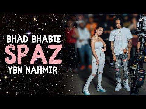 "BHAD BHABIE ""Spaz"" ft. YBN Nahmir Lyric Video | Danielle Bregoli"
