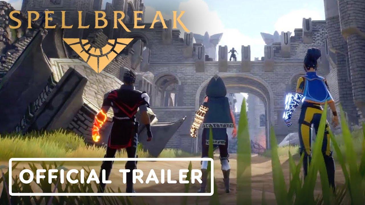 Геймплейный трейлер игры Spellbreak