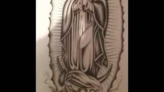 Como Dibujar Virgen De Guadalupe Videos