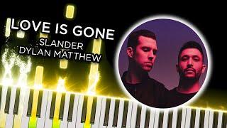 Your Love Is Gone (Slander)   Piano Tutorial