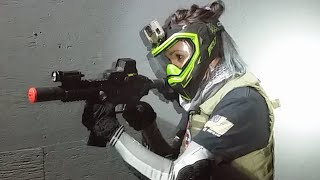 Unicorn Leah LIVE CQB Gameplay At Extreme Airsoft RI