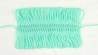 Hairpin Lace Crochet Stitch Tutorial