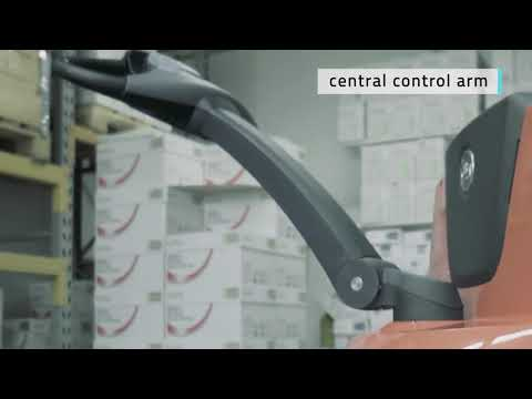 Toyota BT Staxio HWE 100 Elektro-Hochhubwagen 1,0 t kompakt 1150mm Polyurethan-youtube_img