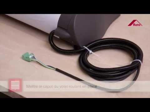 Comment installer votre volet roulant electrique ROTO